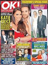 OK! MAGAZINE No 968: 17 February 2015 (Valentine's Special Issue)