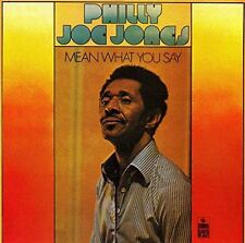 Philly Joe Jones mean what you say Tucker MICKEY Bass/SONET CD 1990 RARE!