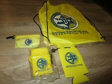 Maccabi Electra Tel Aviv Israel Basketball Club Back Pack Bag Set NEW