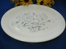 "WEDGWOOD Bone China WILD OATS Oval Serving Platter 13 3/4"" England EXC!"
