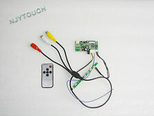 "AV Remote LCD Controller Driver Board For 7"" AT070TN07 26Pin LED Screen Car DVD"