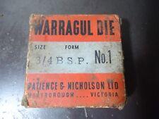 "P&N BSP No.1 -  3/4"" Square Warragul Die in Original Box"