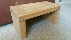 Futon or LONG Side Table (low table) light oak