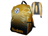 Pittsburgh Steelers Fan Rucksack gelb NFL Backpack Tasche Schultasche 45x35x15cm