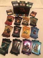 Magic The Gathering Chaos Draft - 24 MTG SEALED PACKS + Box + Lands + Spindowns