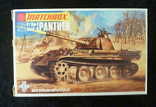 Matchbox WW2 Panther German Tank Model Kit 1/76 Scale