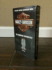 Harley Davidson The American Motorcycle Official Authorized VHS Video Tape 1993