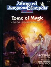TOME OF MAGIC VGC! Spell Book TSR Handbook Players Dungeons Dragons D&D Guide