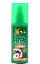 XPEL MOSQUITO & INSECT REPELLENT SPRAY 70ml BITES MOSQUITOS WASPS MIDGES