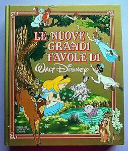 LE NUOVE GRANDI FAVOLE DI WALT DISNEY MONDADORI 1 ED 1986 ALICE PETER PAN DUMBO