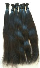 "18"" Brazilian Unprocessed 100% Human Braiding Bulk Hair Extensions"