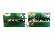 2 x Nutri-Herbal Tea All Natural Herbal Laxative Tea Extra Strength 3G x 15 Bags