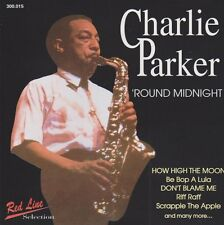 Charlie Parker Round Midnight (How High The Moon, Riff Raff) Red Line CD