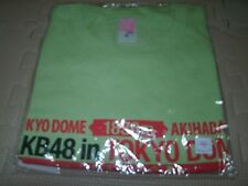 New AKB48 iol AKB48 in TOKYO DOME -1830m- Dream T-shirt F/S Formal goods japan