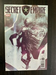 "Secret Empire #3 ""Hydra Hero"" Jane Foster Thor variant NM comic!"
