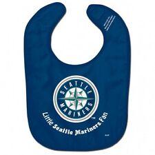 MLB Seattle Mariners Baby Infant ALL PRO BIB LITTLE FAN Blue
