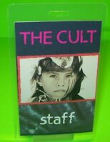 The Cult Ceremony Backstage Pass Original Laminated Hard Rock Music Concert Tour
