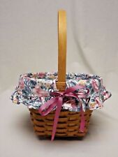 Longaberger 1993 Mother's Day Basket with Liner, Protector and Certificate