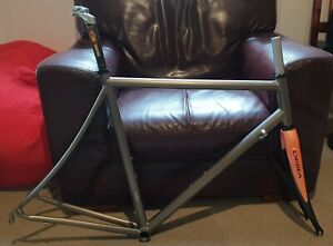 57cm Titanium Road Frame, fork, headset, post, stem