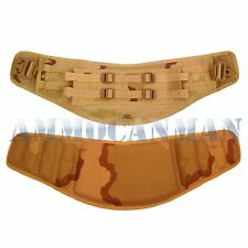BRAND NEW IN PACKAGE! MOLLE MOLDED WAIST BELT DESERT CAMO