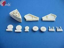Pavla U48006 1/48 Resin Trumpeter Mikoyan MiG-19 wheel well set with wheels