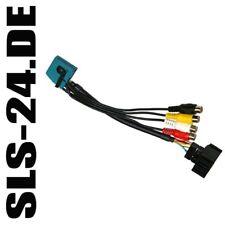 BMW TV Tuner MK 1 2 3 4 AV Interface Video Radio Adapter +RFK Anschluss Kabel