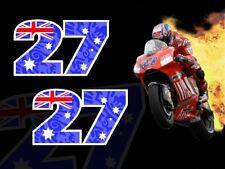 Casey Stoner TRIBAL #27 MotoGP motorcycle racing Decals Stickers 999 GP11