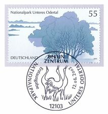 FRG 2003: Lower Oder valley! Block brand No 2343 with Berlin Special postmark 1A