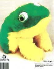 RANA frog Peluche kit completo pupazzo da cucire bambini bambola taglia 15cm