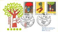 FDC Venetia - Italia Repubblica 1976 - Giornata del francobollo raccomandata VG