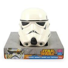 STAR WARS STORM TROOPER CERAMIC MONEY BANK BOX Authentic *NEW* RARE SALE!!!