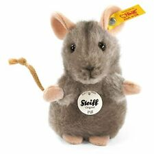 Steiff 10cm Piff Mouse Grey
