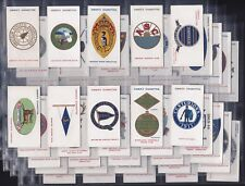 """OGDENS, CLUB BADGES, SERIES OF 50 ISSUED IN 1915 """"VERY GOOD/EXCELLENT CONDITION"""""""