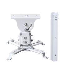 Universal LCD/DLP Projector Vaulted Ceiling Mount Bracket Tilt 44 lbs White CXR