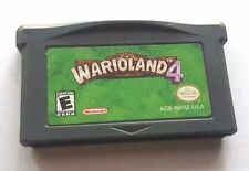 Gameboy Advance Game GBA SP DS Dsl ~ WARIOLAND 4 WARIO LAND ~ 20 Fun Levels