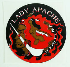 Weeded Records Lady Apache Reggae Round Promotional Sticker 5""