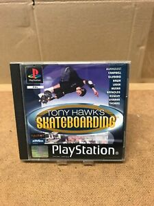 TONY HAWKS SKATEBOARDING PLAYSTATION 1 GAME COMPLETE