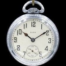 Elgin Lever Pocket Watches for sale | eBay