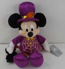 """New listing Disney Store Mickey Mouse Plush Halloween Spider Costume Trick Treat Bag 15"""""""