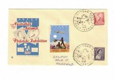 Australia 1959 5d ANPEX Cover,cds Exhibition Town Hall + LABEL