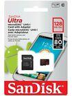 new sandisk ultra 128gb micro sd sdxc card 80/mbps SDSQUNC 128GB GENUINE
