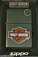full size zippo lighter HARLEY DAVIDSON LOGO NOS