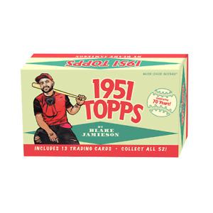 2021 1951 Topps by Blake Jamieson Week 1 Baseball Box Factory Sealed (Qty)