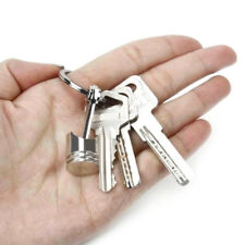 Hot Engine Auto Car Part Silver Metal Piston Alloy Keychain Keyring Keyfob New (Fits: More than one vehicle)
