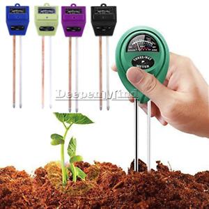 3 in 1 PH Tester Soil Water Moisture Humidity Detection Sensor For Garden Flower