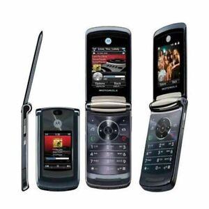 Original Unlocked Motorola Razr2 V8 - Black 2GB Flip GSM Cell Phone Mobile Phone