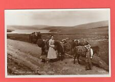 More details for bringing home the peat working ponies pony unst shetland rp pc unused ref q334