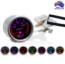 52mm Type R 7 COLOR Water Temp Temprature Gauge Universal Fit