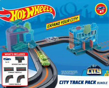 Hot Wheels City Track Pack Bundle Set Build Car