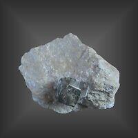 Schöne Sammlerstufe Pyrit in Matrix toller Doppekristall - Navajun Spanien Spain